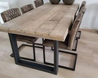Modern Reclaimed Wood Table