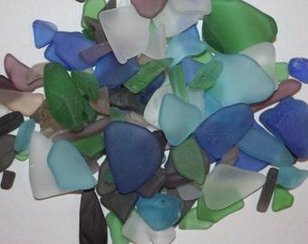 4 lbs) Sea Glass, Tumbled Sea Glass, Bulk Sea Glass, Sea Glass crafting, Sea Glass Bulk, Sea Glass for jewelry, crafts, S~