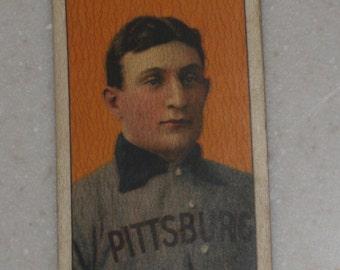 1909/10 T206 Honus Wagner Sweet Caporal Cigarettes Back