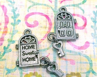 Home Sweet Home - 4 pieces-(Antique Pewter Silver Finish)