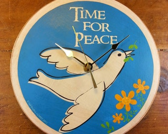 Time For Peace Wall Clock