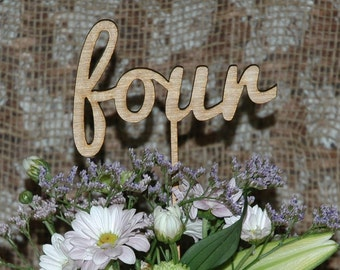 Rustic Wedding table numbers, Engagement table numbers, table numbers, wooden