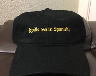 Spills Tea In Spanish