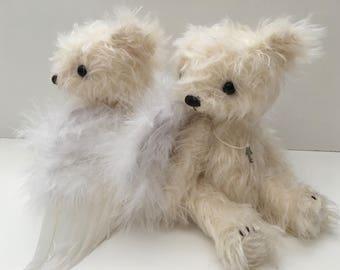 Angel Bear artist bear epattern by Jenny Lee of jennylovesbenny boutique bears PDF