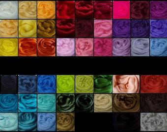 30g (7.67 Euro/100g) 1oz wool roving needle felting wool merino wool roving spinning fiber dread wool doll hair wool hair roving wool