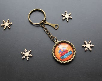 "Keychain ' uncle tearing ""vintage"