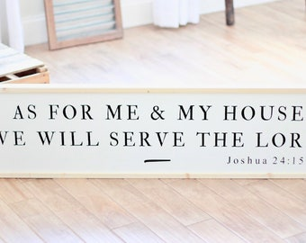 As for Me and My House - Joshua 24:15