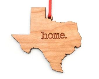 Texas home. Christmas Ornament - TX Texas Ornament - Home Christmas Ornament