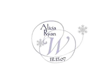 Winter Monogram