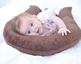 Cosleep Pillow - Brown - Cosleeping - Cradle Me Pillow