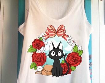 Jiji - Kiki's delivery service cat Tank Top Sleeveless t-shirt
