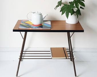 SOLD - VINTAGE Mid Century Atomic FORMICA Coffee Table