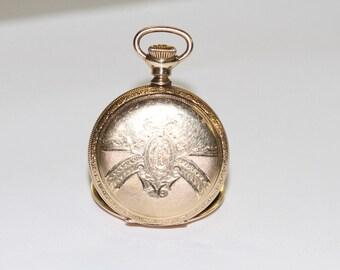 Antique Hampden Watch Co. Pocket Watch - 14KT Yellow Gold MOLLY STARK