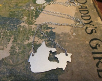 The Casey Necklace - Canada Love Pendant Necklace or Key Chain