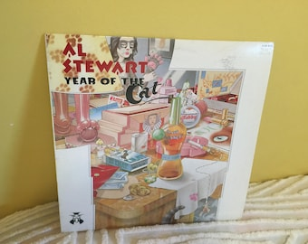 Al Stewart Year of the Cat Vinyl Record album GREAT CONDITION