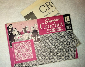Vintage Superior Crochet Pattern
