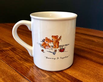 Hallmark Mug Mates Bear Coffee Cup