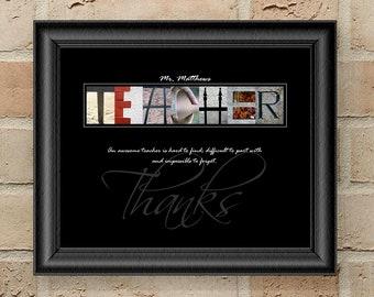 Teacher Appreciation Gift For Teacher Thank You Teacher Gift Teacher Quote Teacher Gift Idea Personalized Teacher