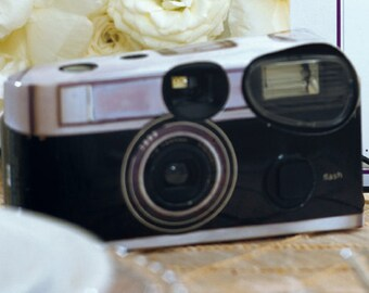 15 Disposable Cameras - Wedding Favor - Vintage Design Camera - Wedding - Retro - Photo Booth - Party - Single Use - Romance - Set of 15