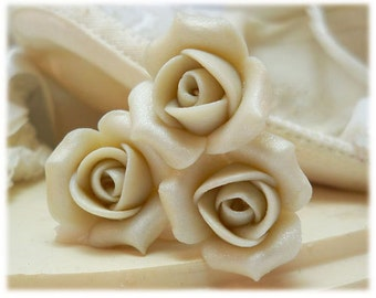 Bridal Rosebud Hair Pins - Small Wedding Hair Flowers, Bridal Hair Flower Hair Accessories
