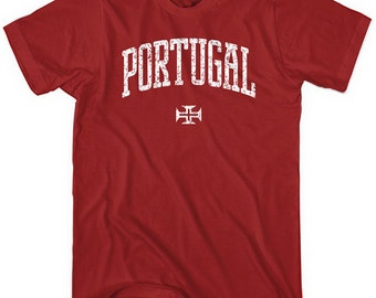 Portugal T-shirt - Men and Unisex - Portuguese - XS S M L XL 2x 3x 4x - 4 Colors
