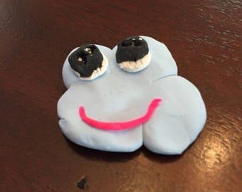 Happy cloud magnet