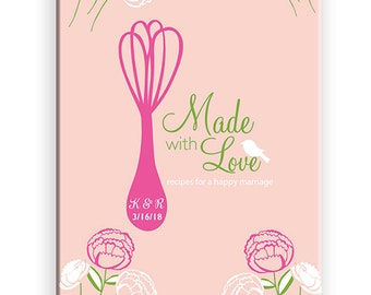 recipe book mothers day gift from son recipe book personalized recipe journal