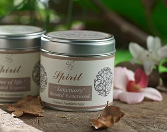 Cedarwood Soy wax candle - Scented candles - Natural candles - Soy Candles - Aromatherapy candles - Essential Oil