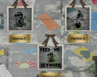 Little Shop of Horrors Decals