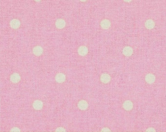 STORE CLOSING SALE - Nursery Rhyme Pink Dot, Pink Polka Dot, Springs Creative Fabric, 100% Cotton Quilt Fabric, Quilting Fabric