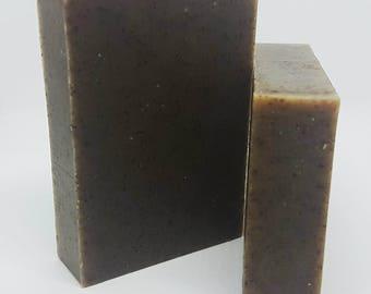 Moringa + Peppermint Soap- Moringa Soap, Peppermint Soap, Minty Soap, Natural Soap, Homemade Soap, Natural Soap, Scented Soap, Vegan Soap