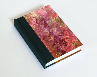 """Sketchbook 4x6"""" with motifs of marbled papers - 1"""