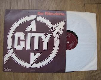 Der Tatowierte - City vinyl record