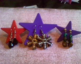 3 Pairs For 12.00........earrings