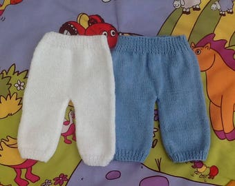 baby blue or white trousers