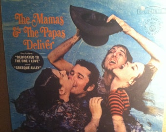 The Mamas & The Papas Deliver Vinyl Rock Record Album