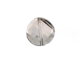 Crystal Silver Shade 5621 - Swarovski Crystal - Faceted Twist (14mm, 18mm, 22mm)