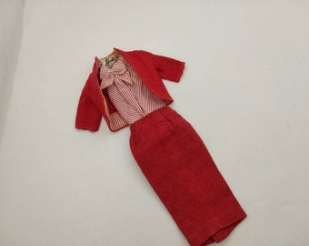 Barbie fashion Busy Gal 1961  Jacket  Body suit and Sweater  Outfit 11 inch dolls 3 pieces