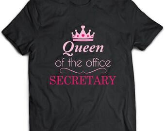 Secretary T-Shirt. Secretary tee present. Secretary tshirt gift idea. - Proudly Made in the USA!
