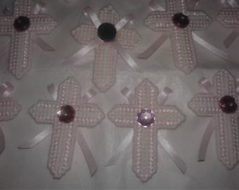 Pink Cross magnet