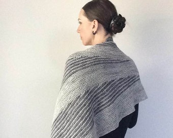 IMBUE Shawl Knitting Pattern PDF