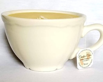 Cinnamon Bread Scented Teacup Candle