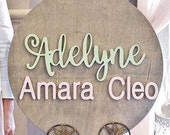 Custom Baby Name Sign for...
