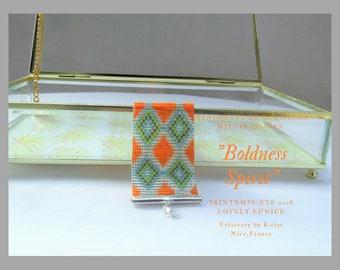 """Boldness Spirit"" flexible Cuff Bracelet"