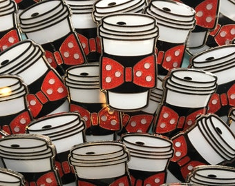 Rock the Dots Coffee Cozy Pin