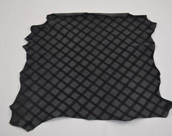 Genuine Leather Skin Scottish Gray Lambskin (8762316)