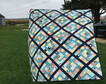 Made to Order: Scrappy Quilt--you pick the colors