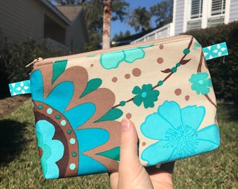 Limited Edition Pouch, Cosmetic Bag, Toiletry Bag, Pouch, Fabric Pouch, Organizer, Bag