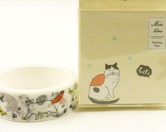 Get Fuzzy - Japanese Washi Masking Tape - 5.5 Yards
