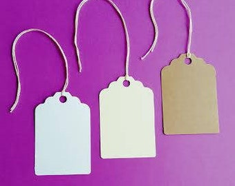 Price Tags, Gift Tags, Note Tags, Labels, Yard Sale Tags, Hang Tags, Scalloped Tags, Price Tags